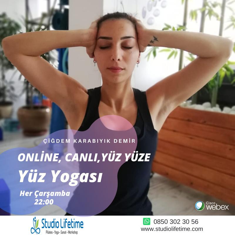 online, canlı, Yüz Yüze - Yüz Yogası